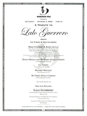 Lalo mark guerrero concert flyers page 1 go to for lalo mark video page 1 stopboris Images